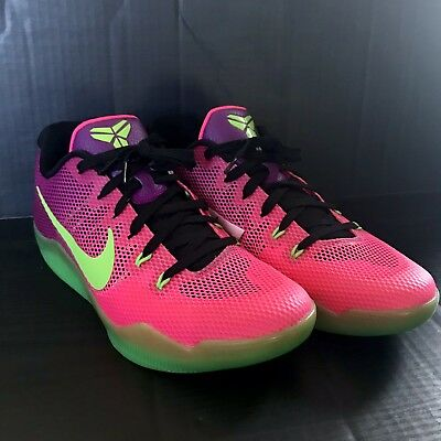 newest collection 09e21 54ba7 New Nike Kobe XI 11 Size 10 Low Mambacurial Pink Flash Plum  836183-