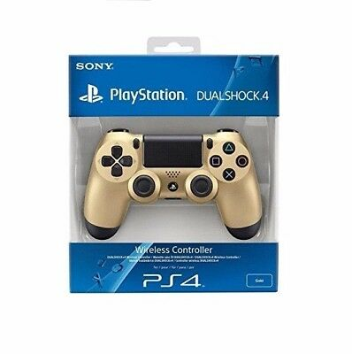 Sony PlayStation 4 (PS4) DualShock 4 Wireless Controller - Gold