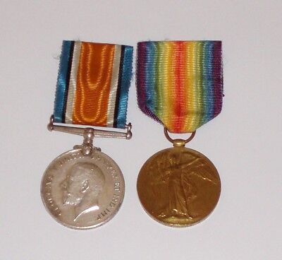 WW1 Medal Pair to the 5th Btn Royal Scots.