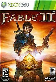 Fable III (Microsoft Xbox 360, 2010) Fable 3 xbox (Almost Brand New)