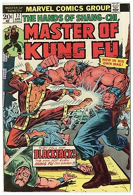 Master of Kung-Fu #17 (#1) VF/NM 9.0 ow/white pages  Marvel  1974  No Reserve