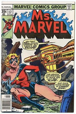 Ms. Marvel #17 NM- 9.2 white pages  2nd brief app. Mystique  Marvel  1978