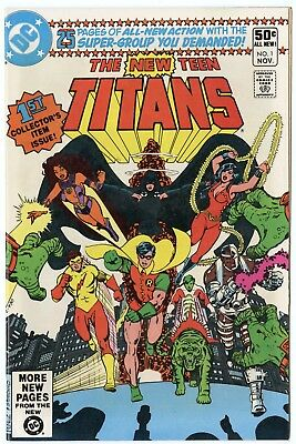 New Teen Titans #1 NM 9.4 ow/white pages  DC  1980  No Reserve