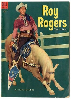 Roy Rogers Comics #71 VG+ 4.5 ow/white pages  Photo Cover  Dell  1953  No Resv