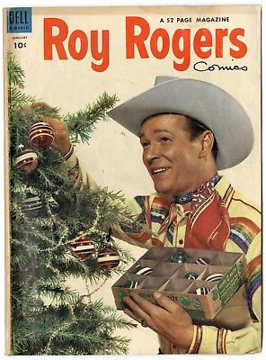 Roy Rogers Comics #73 VG+ 4.5 white pages  Photo Cover  Dell  1954  No Resv