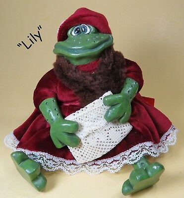 """RUSS """"Lily"""" Frog From """"The Li'l Romantics"""" Collection"""