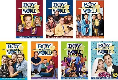 Boy Meets World - Complete Series - All Seasons (1, 2, 3, (4, 5, 6, 7)) on DVD