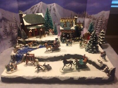 Department 56 Christmas Village Display.Department 56 Decorative Collectible Brands Christmas