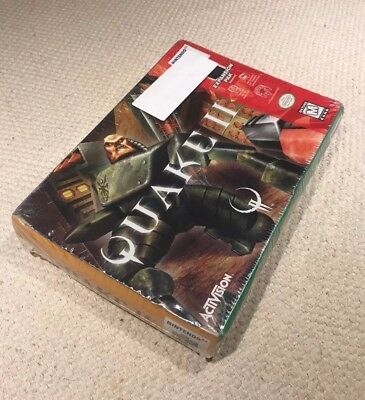 SEALED N64 ntsc QUAKE II US/CA/Mexico Nintendo 64 retro video game NEW!