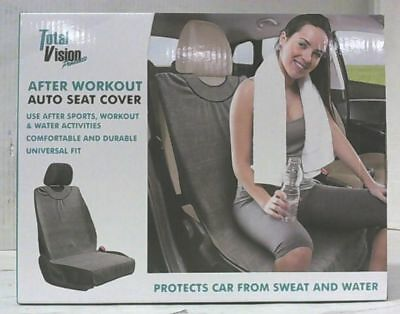 NEW Total Vision Products After Workout Universal Fit Auto Seat Cover