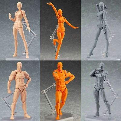 Model Mannequin Sketch Figure Artist Movable Hand Art Limbs Body Drawing