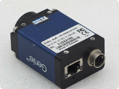 1pcs DALSA CR-GEN0-M1020 Gigabit Ethernet Port Black and White CCD Camera Gige