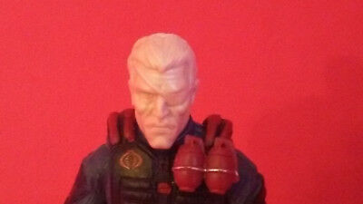 MH032 Cast Action figure head sculpt for use with 1:18th scale GI JOE Military