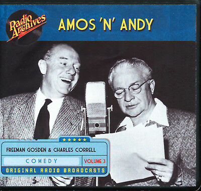 AMOS 'N' ANDY: Volume 3 (Old Time Radio Archives 10-CD set) - OTR - Great sound!