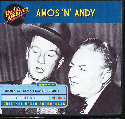 AMOS 'N' ANDY: Volume 4 (Old Time Radio Archives 10-CD set) - OTR - Great sound!