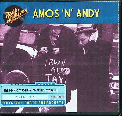 AMOS 'N' ANDY: Volume 8 (Old Time Radio Archives 6-CD set) - OTR - Great sound!