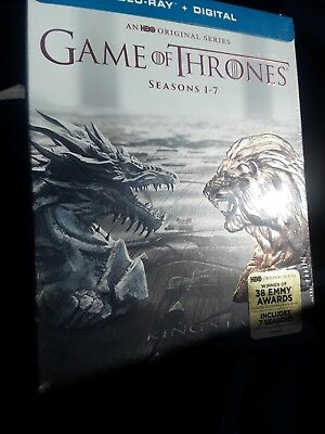 Game of Thrones:The Complete Seasons 1-7 Blu-ray Boxset Discs Factory Sealed New