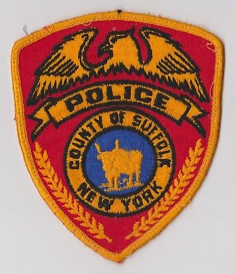 Suffolk County Police Department (NY) Police Patch