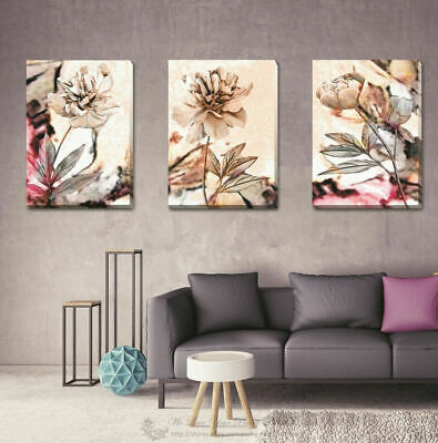 Glorious Ginko Stretched Canvas Print Framed Wall Art Hanging DIY Decor F105