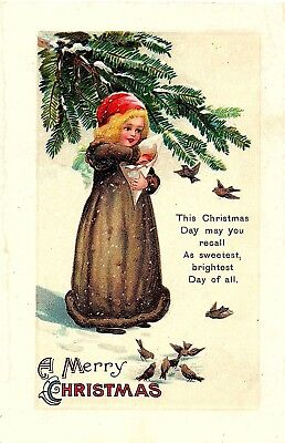 Early 1900's Elegantly Embossed Historic Vintage Antique Topical Post Card #20
