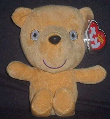 Ty Peppa's Teddy Beanie Baby - Uk Exclusive Peppa Pig Theme Park - Mint Tag