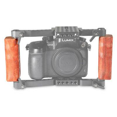 SmallRig Left and Right Wooden Handle (2pcs) for DSLR Cage 1751