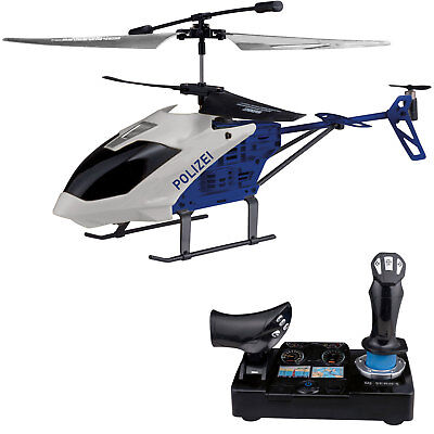 RC Polizei Helikopter 2,4 GHz Drohne LED Ferngesteuerter Hubschrauber Helicopter