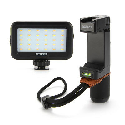 Sevenoak SK-PSC1 Smartphone Handheld Grip + SK-PL30 LED Video Photo Light LF859