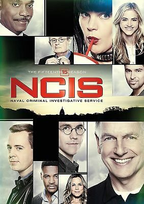 NCIS: The Fifteenth Season 15 (DVD, 2018, 6-Disc Set) Free Shipping! US SELLER!