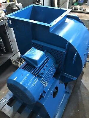 Industrial Fan Centrifugal Blower Spray Booth Extractor 15kW 3-Phase