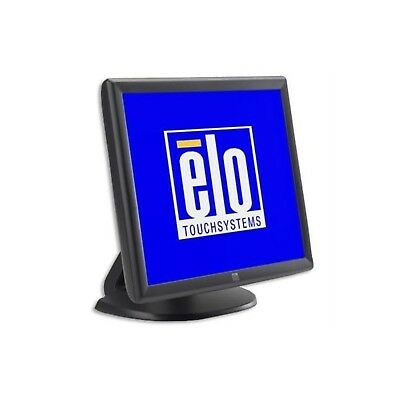 """ELO TouchSystems 19"""" Touch Screen Monitor ET1915L Display VGA USB mit Fuss"""