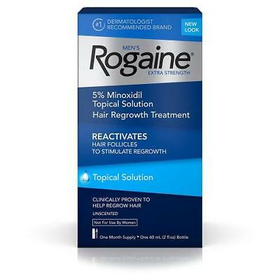 Rogaine Extra Strength Mens 1/2/3/4/6/9/12 Month Supply - Topical Solution