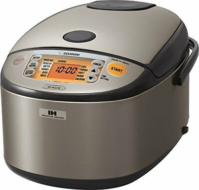 NEW Zojirushi NP-HCC18XH 10-Cup Induction Heating System Rice Cooker & Warmer