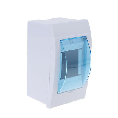 2-3 ways Plastic distribution box for circuit breaker indoor on the wall MW