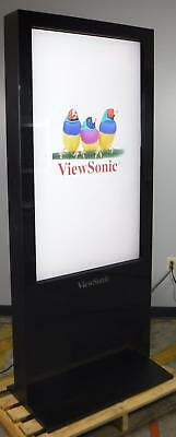 "ViewSonic EP5502T 55 "" Multimedia Digital Poster Kiosk TESTED & WORKING"