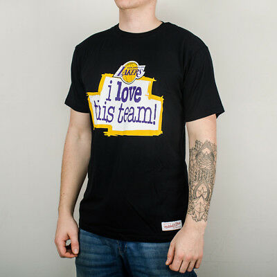 Mitchell & Ness NBA Los Angeles Lakers I Love This Team Loveteamtail-Lalake-Blk