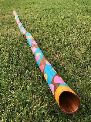 "Hardwood Didgeridoo - Key of C - HD 4 ""Chroma"" - thejmjexperience"
