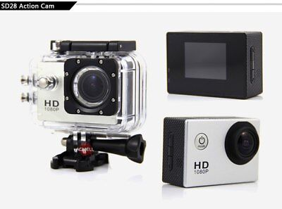 Full HD 1080p H2.64 Action Camera 30m Waterproof WiFi 2in Screen Wide Angle Lens