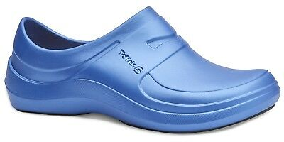 Toffeln Aktiv Lite 210 - Metallic Blue - Womens Washable Nursing Shoes