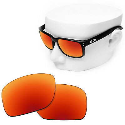 3348b3ae9fa OOWLIT Replacement Sunglasses Non-Polarized Lenses for-Oakley Holbrook- Red
