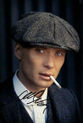 Cillian Murphy Peaky Blinders Signed Autograph PRINT 6x4' Gift Present!