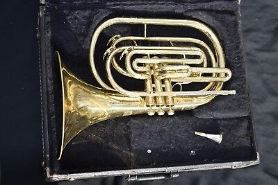 King 1122 Marching Bb French Horn / Mellophone