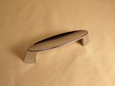 Vintage Chrome Cabinet Door Handle Drawer Pull  50s 60s 70s Retro Modern