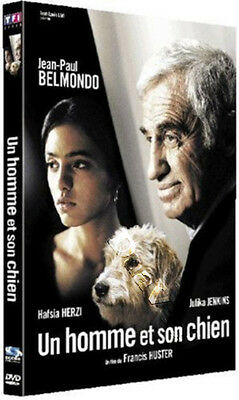 A Man and His Dog NEW PAL Cult DVD Jean-Paul Belmondo