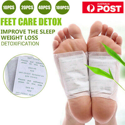800pcs Detox Foot Pad Patches Remove Harmful Body Toxins Sleep Herbal Cleanse
