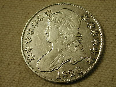 1826 U.S. Capped Bust Half Dollar Very Fine