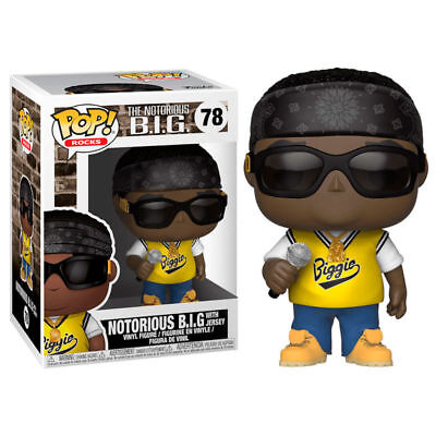 Funko POP Vinyl Rock ! Notorious B.I.G.  #78 Jersey - New!!!