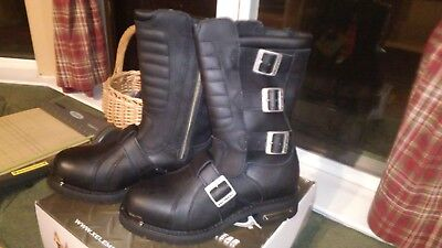 X Element Executioner Motorcycle  Boots