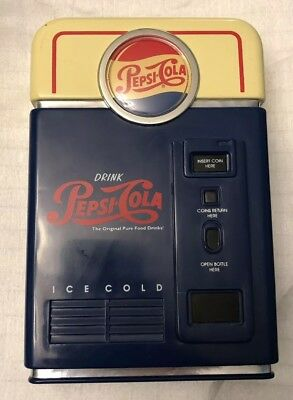 1996 Soda PEPSI COLA Coin Sorter Bank
