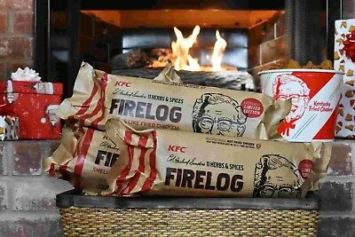 KFC Fire Log- Envirolog 11 Herbs and Spices SOLD OUT